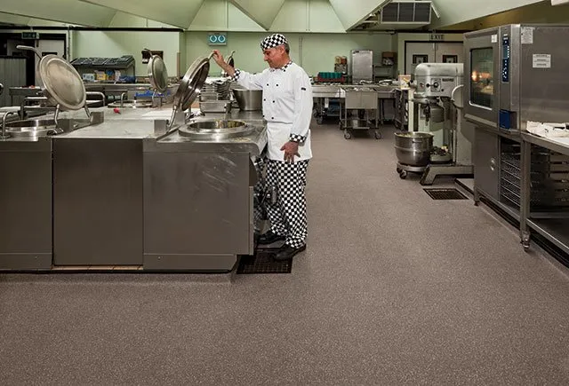 Safety Flooring Solutions: Kitchen Flooring