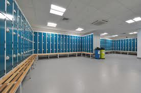 Gym Flooring & Sport Flooring: Leisure Centre Locker Rooms