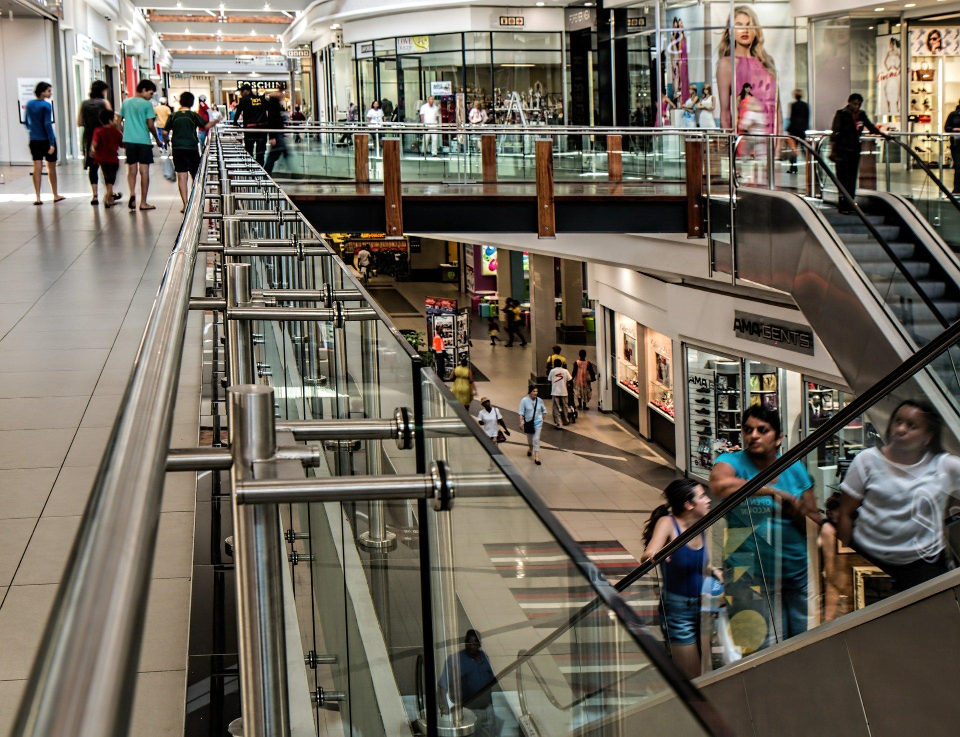 shopping centre flooring